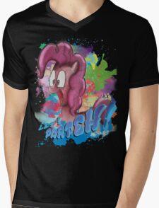 Pinkie Pie SPLAT PARTEH! Mens V-Neck T-Shirt