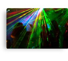 Boogie Night... Canvas Print