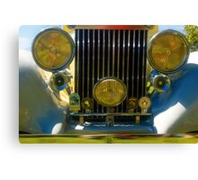 '38 Royce Grill Canvas Print
