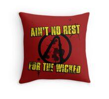 No Sleep Till Pandora Throw Pillow