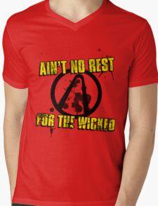 No Sleep Till Pandora Mens V-Neck T-Shirt