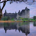 Kilchurn Castle , Loch Awe , Argyll by David Mould
