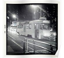 Tram Traveling. Poster