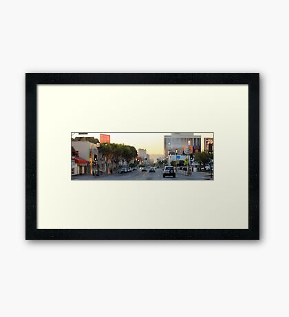 Downtown Los Angeles 0685 Framed Print