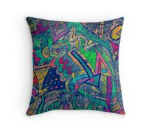 chaos and colors in my soul #2 Throw Pillow