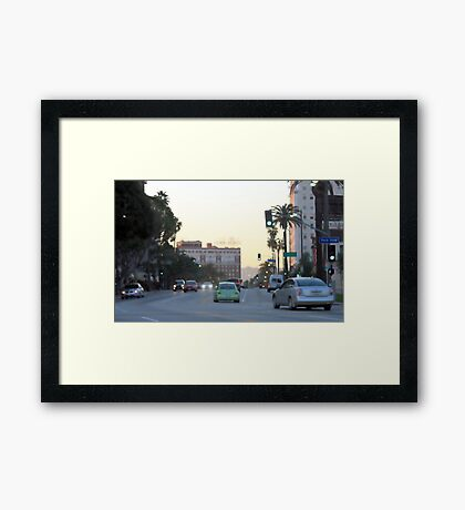 Downtown Los Angeles 0694 Framed Print