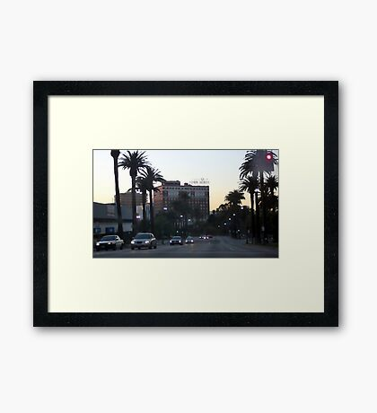 Downtown Los Angeles 0696 Framed Print