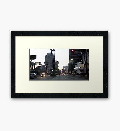 Downtown Los Angeles 0698 Framed Print