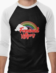 Feminist killjoy retro rainbow T-Shirt