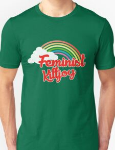 Feminist killjoy retro rainbow Unisex T-Shirt