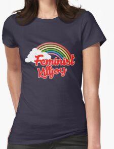 Feminist killjoy retro rainbow T-Shirt