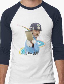 SACHIN Men's Baseball ¾ T-Shirt
