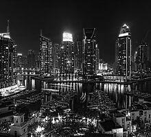 Dubai Marina by Simon Geddes