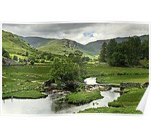 Slater's Bridge, Little Langdale Poster