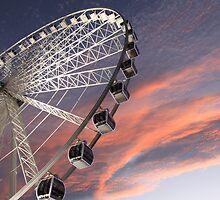 Wheel of Brisbane by Dale  Ku
