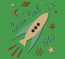 Space Rock 1960 One Piece - Short Sleeve