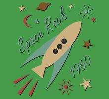 Space Rock 1960 Kids Clothes