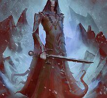 Lich King White Walker Ringwraith by Michael Jaecks