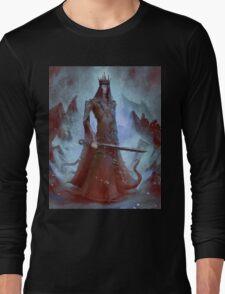 Lich King White Walker Ringwraith Long Sleeve T-Shirt