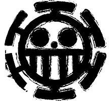 Trafalgar Law Logo Photographic Print