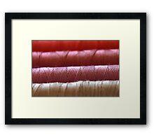 Golden Thread Framed Print