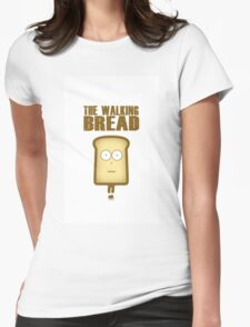 The Walking Bread Womens Fitted T-Shirt