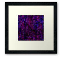 Mauve abstraction Framed Print