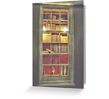 Books, Books, Books. Greeting Card