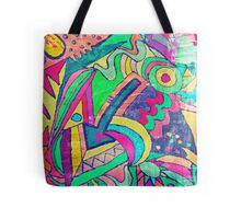 chaos and colors in my soul #3 Tote Bag