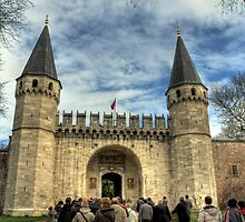 Topkapi Palace by mmarco1954