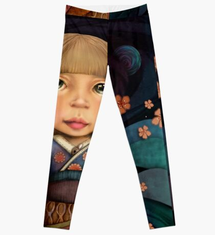 fly me to the moon Leggings