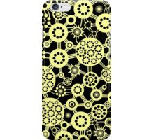 Ecosystem - Chalk Yellow and Black iPhone Case/Skin