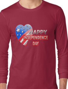 Happy independence day Long Sleeve T-Shirt