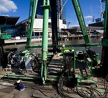 The barge operator & his snakes by MDC DiGi PiCS