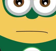 minion green lantern Sticker