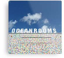 Ocean Rooms Metal Print