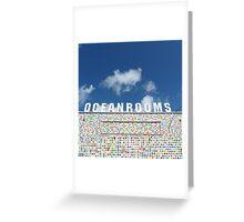 Ocean Rooms Greeting Card