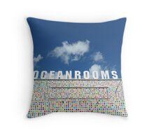 Ocean Rooms Throw Pillow