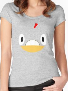 Pokemon - Scraggy / Zuruggu Women's Fitted Scoop T-Shirt