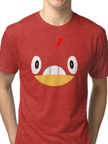 Pokemon - Scraggy / Zuruggu Tri-blend T-Shirt