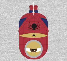 minion spiderman by ClipBookLookArt