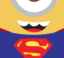 minion superman Sticker