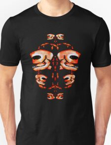 Skull Motif Ornament T-Shirt