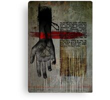 Dont Ever Turn Around Canvas Print