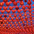 Sea of Lanterns by j0sh