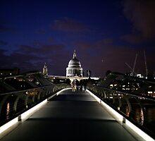 Millenium bridge london. by adam swaine