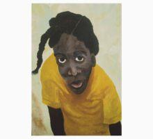 Jamaican school girl Kids Tee