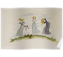 Kate Greenaway Collection 1905 0439 The Dancing of the Felspar Faries Poster