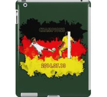 Mario Goetze goal during the final match iPad Case/Skin