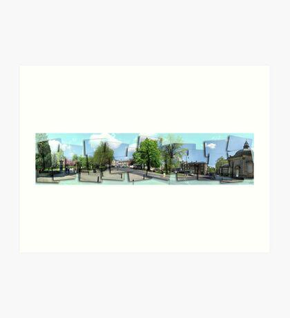 Postcards from Harrogate Art Print